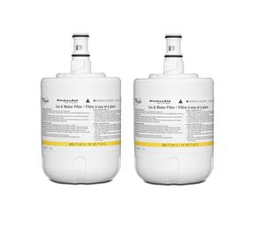 Refrigerator Water Filter- Interior Turn (2 Pack)