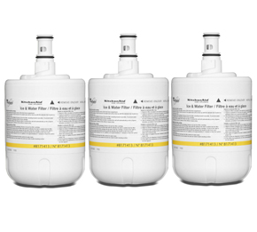 Unbranded Refrigerator Water Filter- Interior Turn (3 Pack)