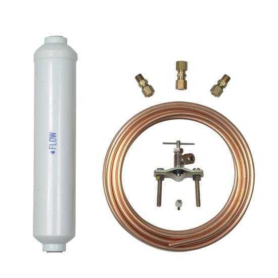 Refrigerator Water Filter - In-Line Kit