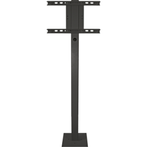 "SunBriteTV, LLC 46""/55""/65"" Deck Planter Pole - Black"
