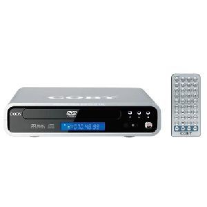 Coby DVD-537 Super Slim 5.1 Channel DVD Player
