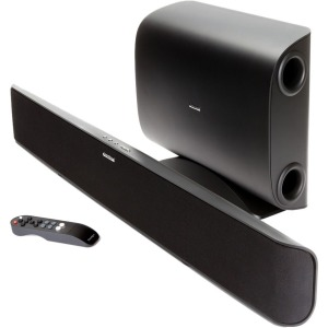Shift Soundtrack 2 System Powered Soundbar, Wireless Subwoofer