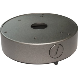 Screen Innovations Large Round Junction Box, Silver