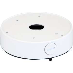 Screen Innovations Large Round Junction Box, White