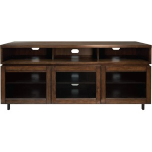 PR45 - Cocoa Finish Wood Home Entertainment Cabinet