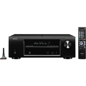 5.1 Channel 3D Pass Through and Networking Home Theater Receiver with AirPlay