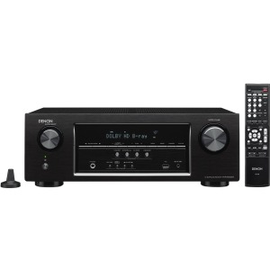 Denon Electronics (USA), LLC AVR-S500BT 5.2-Channel Full 4K Ultra HD A/V Receiver with Bluetooth
