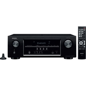 Denon Electronics (USA), LLC AVR-S510BT 5.2 Channel Full 4K Ultra HD A/V Receiver with Bluetooth