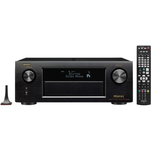 Denon Electronics (USA), LLC AVR-X4200W 7.2 Channel Full 4K Ultra HD A/V Receiver with Bluetooth and Wi-Fi