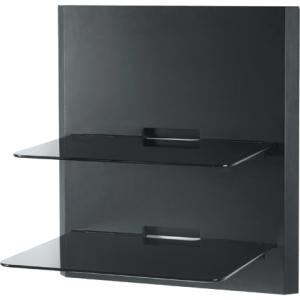 OmniMount Dual Shelf Modular Wall Furniture