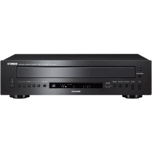 Yamaha Five-Disc CD Changer with PlayXchange for Continuous Music Enjoyment
