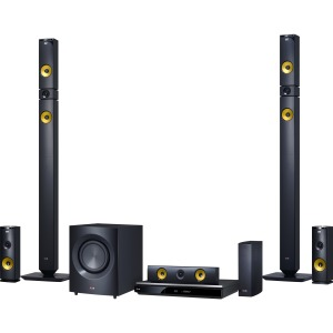 LG Electronics 1460W 9.1ch 3D Smart Home Theater System with Wireless Speakers BH9430PW