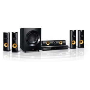 LG Electronics 1460W 9.1ch 3D Smart Home Theater System with Wireless Speakers BH9230BW