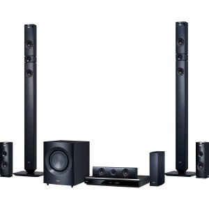 LG Electronics 1460W 9.1Ch 3D Smart Home Theater System with Wireless Speakers BH9431PW