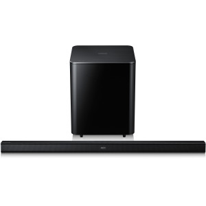 New 2.1 Channel Soundbar System with Wireless Subwoofer