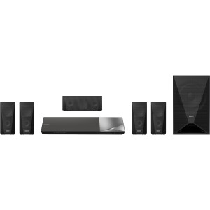 BDVN5200W 5.1 Home Theater System with Blu-Ray Player (Black)