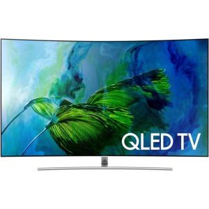 "Samsung Electronics 55"" Class Q8C Curved QLED 4K TV"