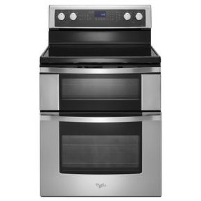 Whirlpool 6.7 Total cu. ft. Double Oven Electric Range with True Convection Cooking