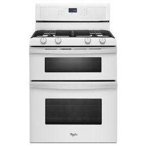 Whirlpool 6.0 Total cu. ft. Double Oven Gas Range with AccuBake system