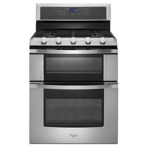 Whirlpool Whirlpool 6.0 Total cu. ft. Double Oven Gas Range with Convection Cooking