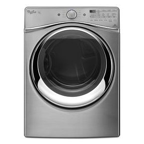 Whirlpool 7.3 cu. ft. Duet Front Load Gas Steam Dryer with SilentSteel Dryer Drum