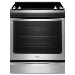 Whirlpool 6.2 cu. ft. Front-Control Electric Range with True Convection