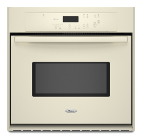 Whirlpool 27-inch Single Wall Oven with AccuBake Temperature Management System