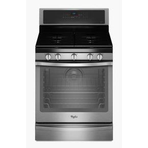 5.8 Cu. Ft. Freestanding Gas Range with AquaLift Self-Cleaning Technology