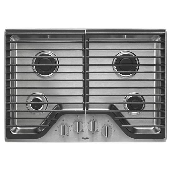 Whirlpool 30 inch Gas Cooktop with Multiple SpeedHeat™ Burners