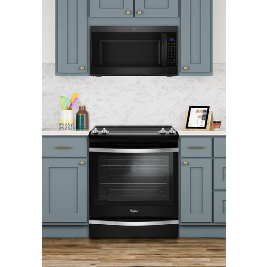 Model: WEE745H0FE | Whirlpool 6.4 Cu. Ft. Slide-In Electric Range with True Convection