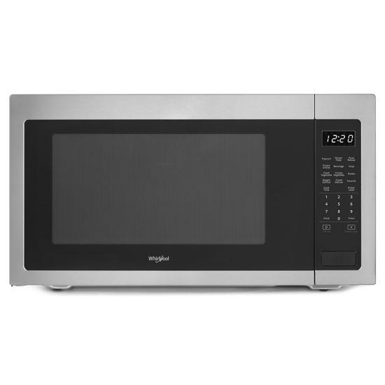 2.2 cu. ft. Countertop Microwave with Fingerprint-Resistant Color Options