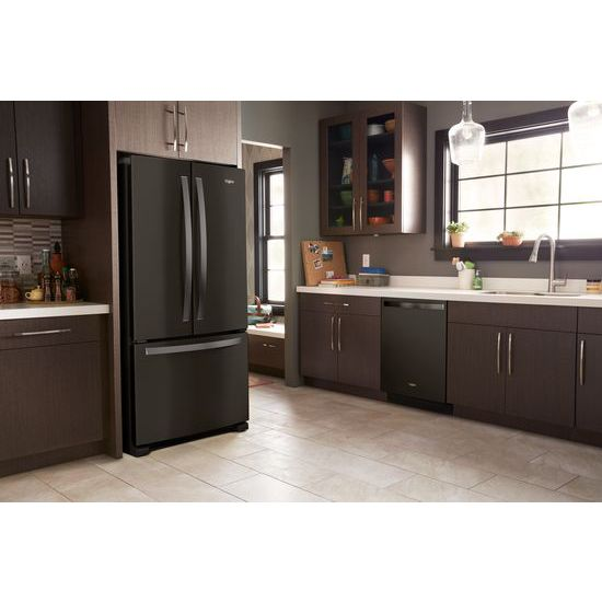 33 inch wide french door refrigerator. 33-inch Wide French Door Refrigerator - 22 Cu. Ft. 33 Inch