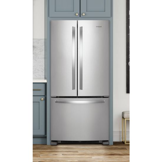 Whirlpool Wrf532smhz 33 Inch Wide French Door Refrigerator 22