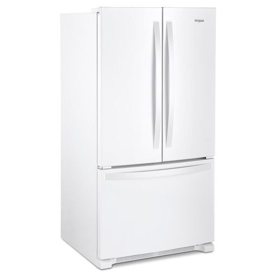 36 Inch Wide French Door Refrigerator With Crisper Drawer   25 Cu. Ft.