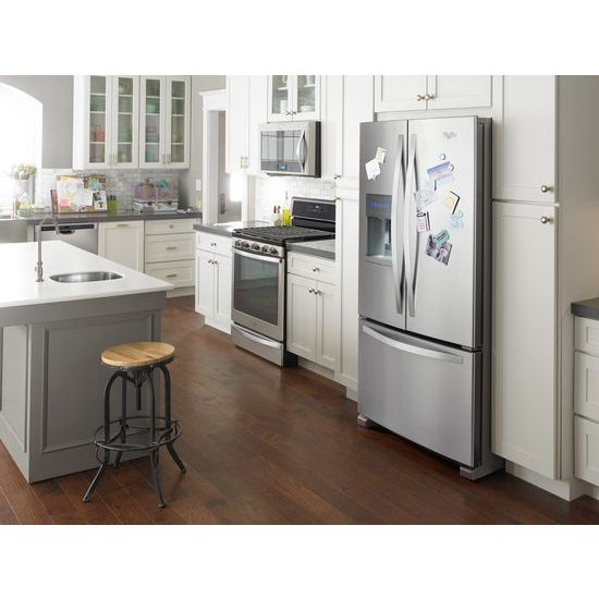 36 Inch Wide French Door Refrigerator   25 Cu. Ft.