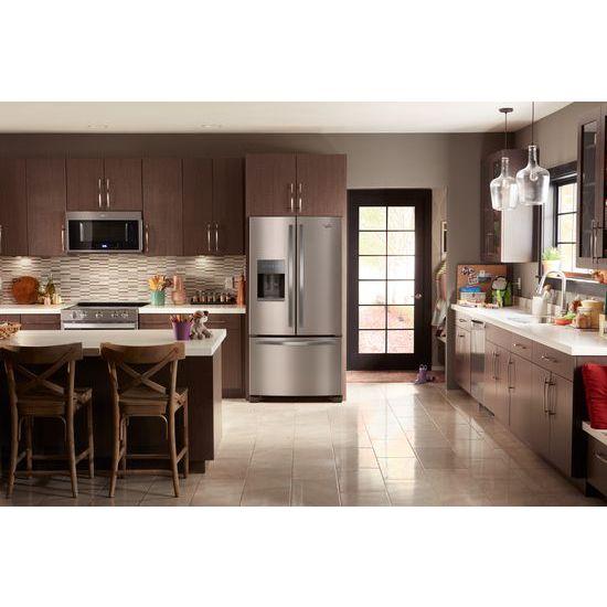 36 Inch Wide French Door Refrigerator   25 Cu. Ft.