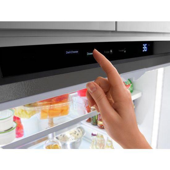 36 Inch Wide French Door Refrigerator With Infinity Slide Shelf   32 Cu. Ft