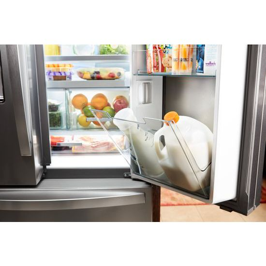 36 Inch Wide French Door Within Door Refrigerator With Cold Space   31