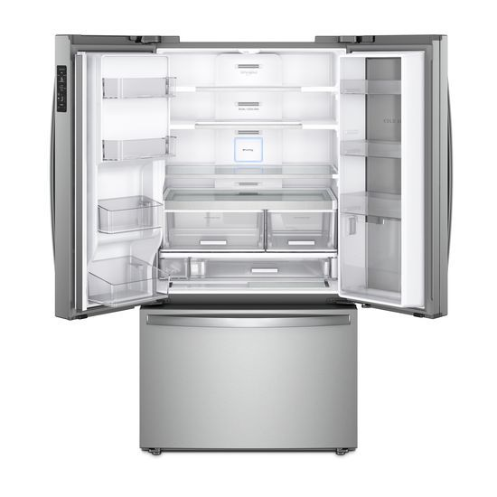 Charmant 36 Inch Wide French Door Within Door Refrigerator With Cold Space   31