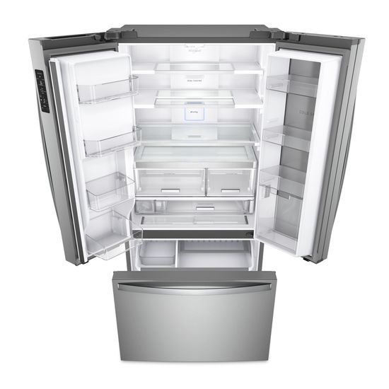 Beau 36 Inch Wide French Door Within Door Refrigerator With Cold Space   31