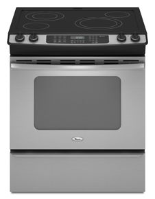 Whirlpool 30-inch Self-Cleaning Slide-In Electric Range