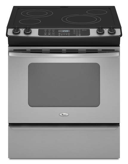 Model: GY399LXUS | Whirlpool 30-inch Self-Cleaning Slide-In Electric Range