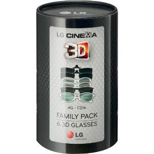 AGF216 Family Pack 3D Glasses