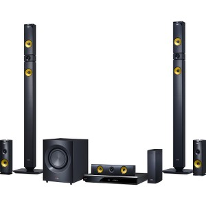 1460W 9.1ch 3D Smart Home Theater System with Wireless Speakers BH9430PW