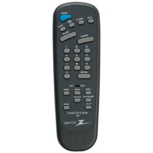 Zenith 124-213-06 Healthcare TV Remote Control