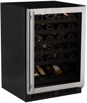 24 High-Efficiency Gallery Single Zone Wine Cellar (Marvel)