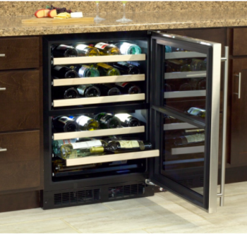 24 High-Efficiency Dual Zone Wine Cellar (Marvel)