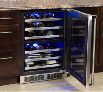 24 High-Efficiency Dual Zone Wine Cellar (Marvel Professional)