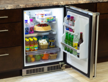 24 All Refrigerator with MaxStore Utility Bin (Marvel Professional)