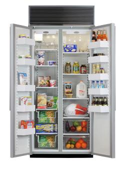 36 Side-by-Side Refrigerator/Freezer (Marvel)